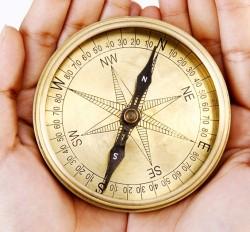 Old Navigational compass