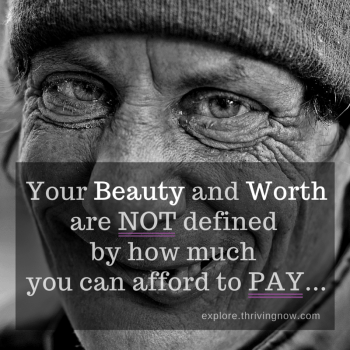 Your Beauty and Worth are not defined by