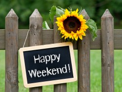 Ready to make the most of your weekend? 1